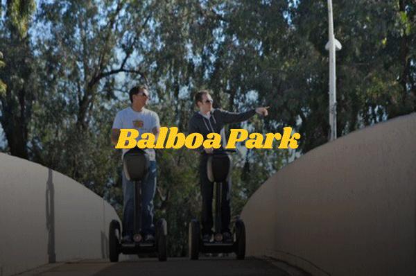 Balboa Park segway tour, San Diego segway tour